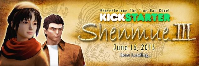 Let's make history. Let's make Shenmue 3